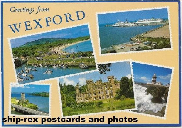 Wexford multi-view postcard